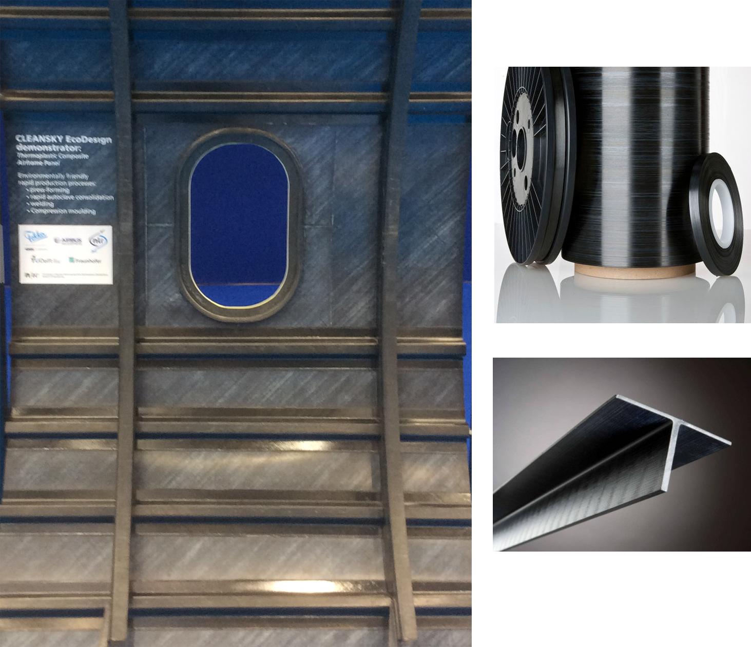 Thermoplastic composites PEEK vs. PEKK vs. PAEK and continuous compression molding (CCM)