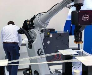 Continuous Compsites and Comau printing continuous fiber composites