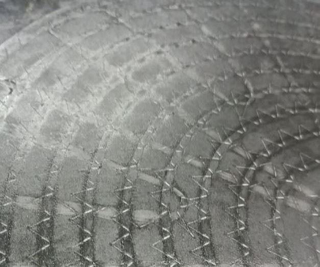 ShapeTex continuous carbon fiber preform overmolded with epoxy SMC