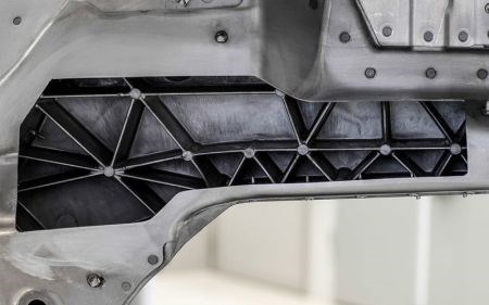Bionic cast metal structures in 2017 Audi A8 spaceframe