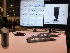 Autodesk University 2017 featured a sensing composite rudder made with continuous fiber 3D printing
