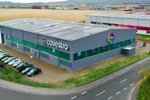 Covestro Maezio continuous fiber reinforced thermoplastic composite materials produced in Markt Bibart, Germany