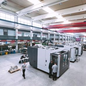 Fill Gesellschaft production of automated manufacturing equipment for lightweight construction and composites