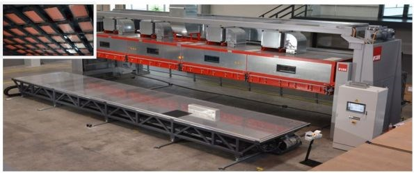 Fill Gesellschaft hot drape forming equipment for prepreg composite parts production