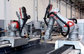 Fill Gesellschaft automated inspection NDT of composites using ACCUBOT versatile robot