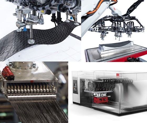 Fill Gesellschaft develops automation for composites production