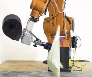 moi composites Atropos system for 3D printing continuous fiber composites using Kuka robot
