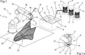 moi composites patent for 3D printed continuous fiber composites
