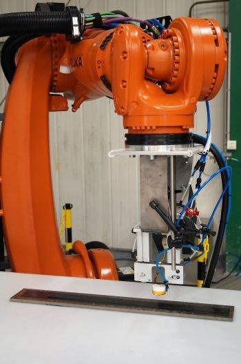 Dynamic induction welding process developed by Composite Integrity
