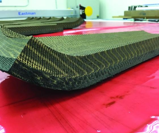 3D woven fabric