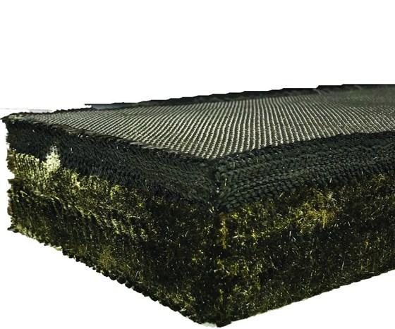 3D woven carbon fiber/phenolic fabric