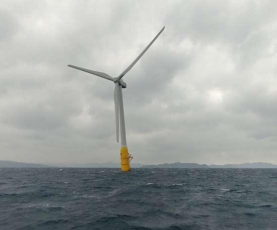 Hitachi wind turbine
