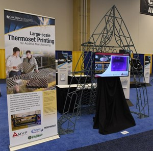 CAMX 2018 Large-scale Thermoset 3D Printing