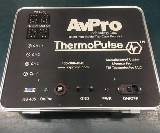 AvPro ThermoPulse prototype hot bonder-based reader and control unit