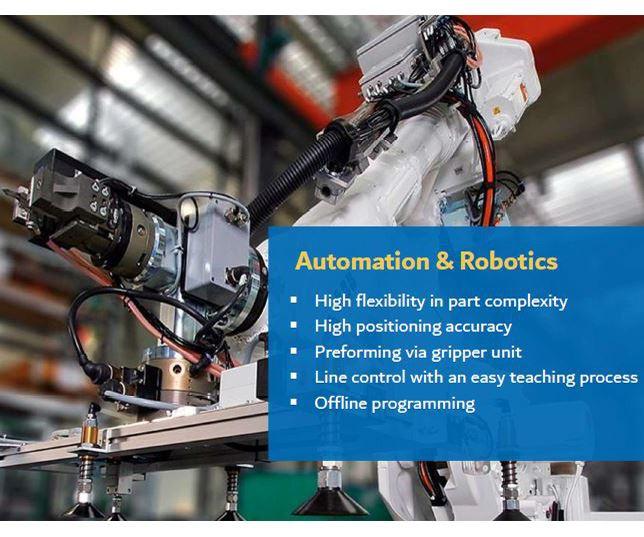 Schmidt & Heinzemann automated preforming for composites