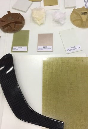 TEXIM thermoplastic prepreg from Inman Mills used to make multiple types of parts