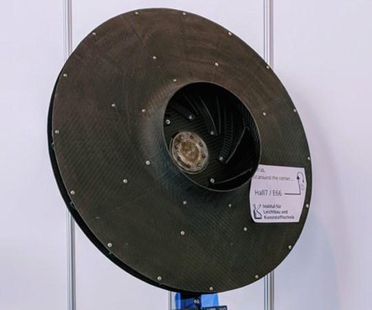 ILK hybrid composite/metal impeller