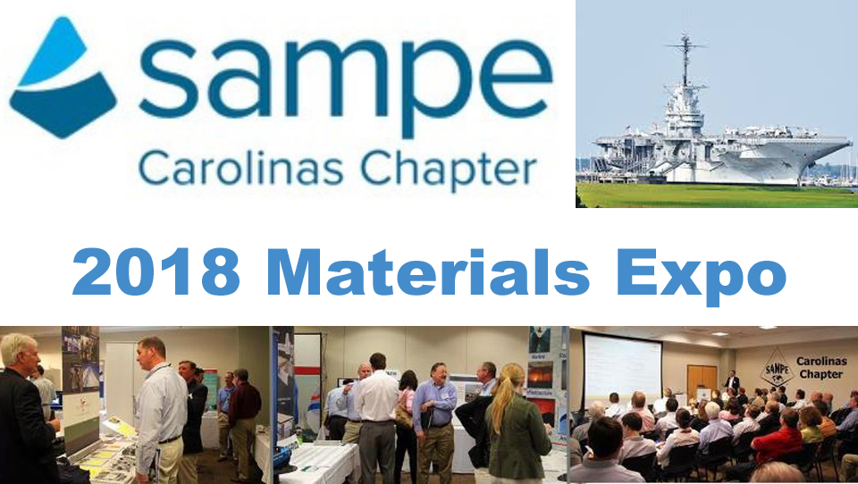 2018 SAMPE Carolinas Materials Expo in Charleston, SC