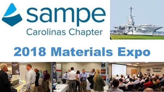 2018 SAMPE Carolinas Materials Expo in Charleston, SC