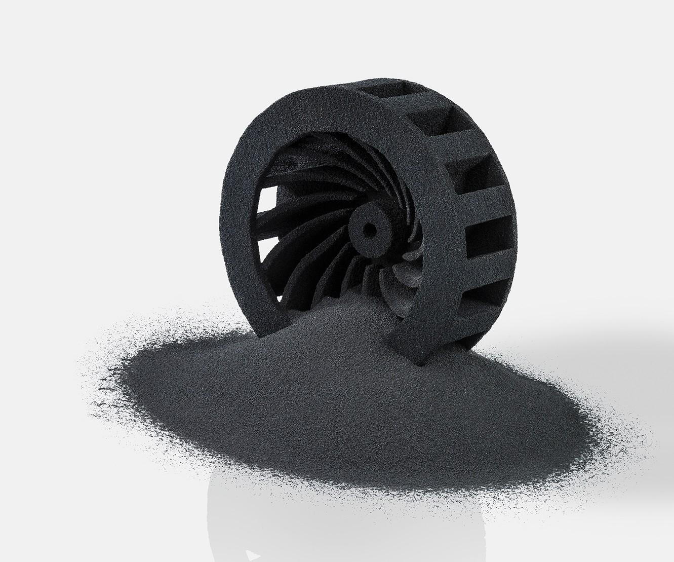 3D printed carbon fiber rotor