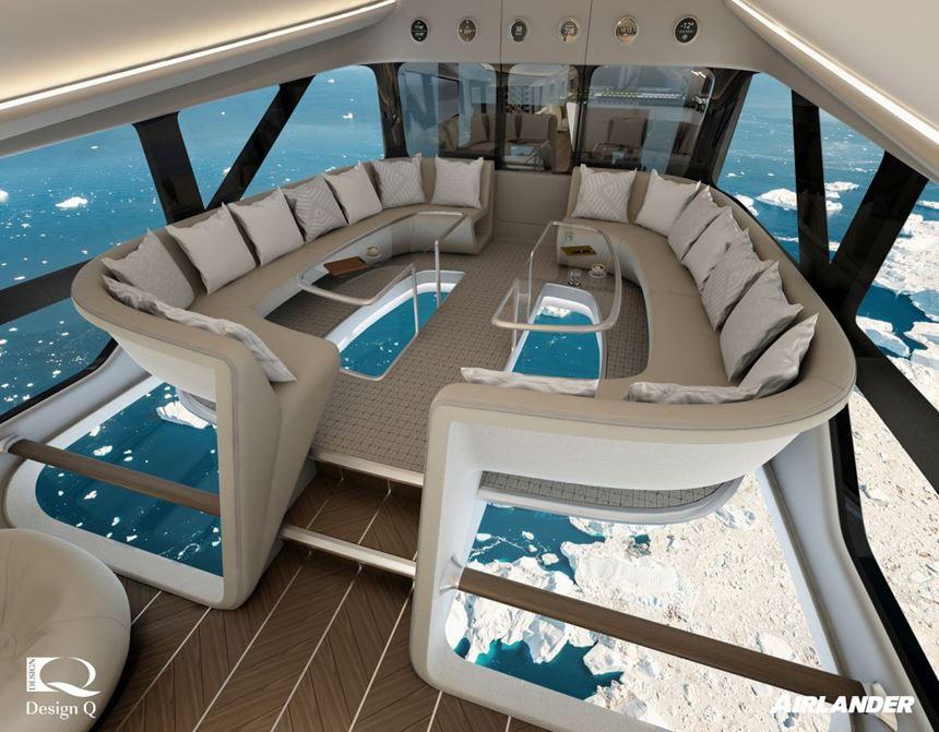 HAV Airlander 10 luxury tourism concept