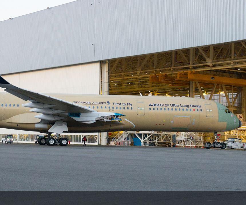 the A350 XWB Ultra Long Range