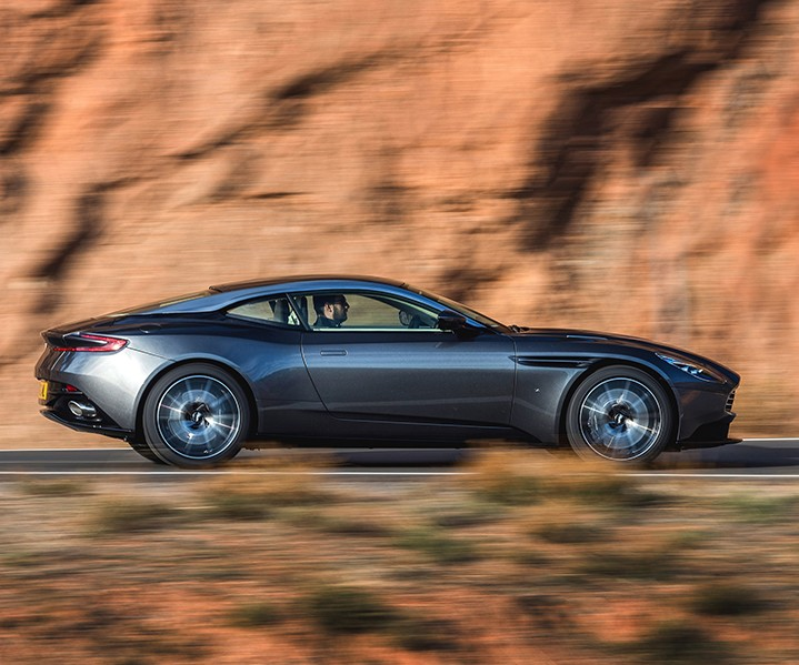 Aston Martin and Dow partnership