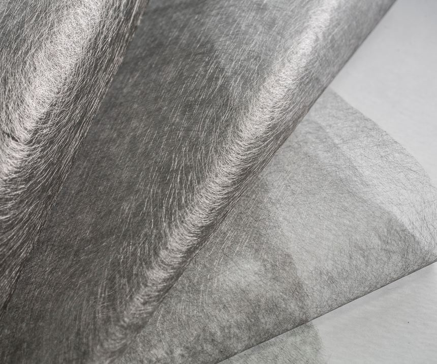 TFP nonwovens for surface finishing.