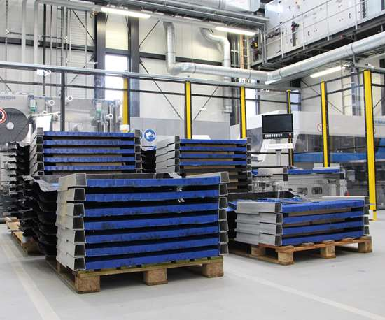 test parts for thermoplastic composite loadfloor