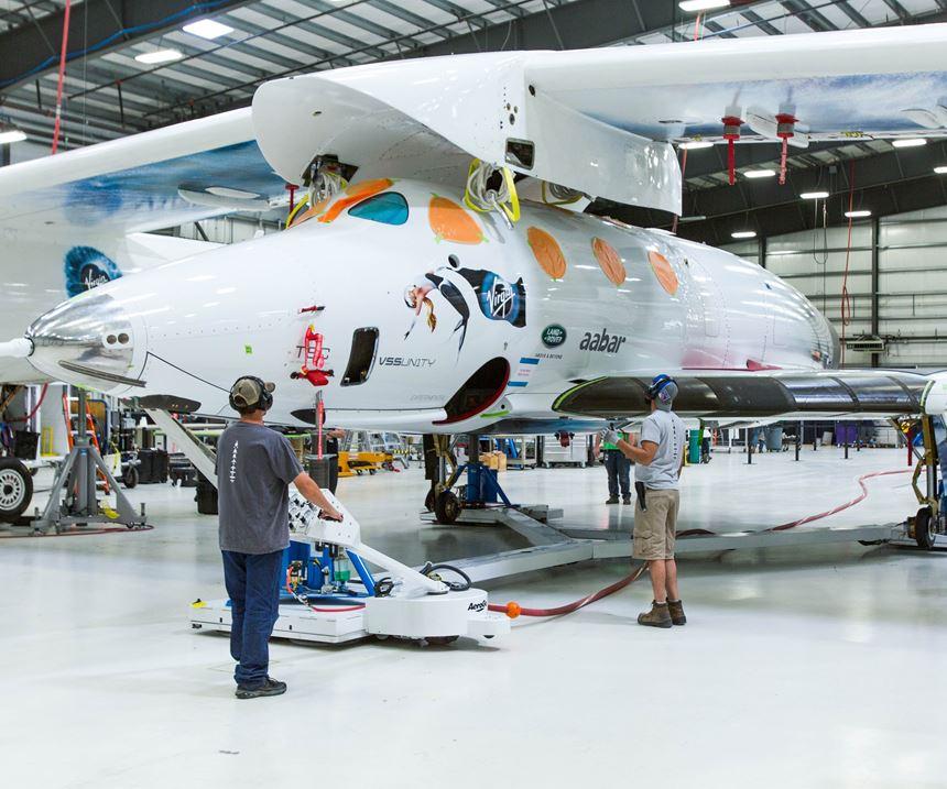 SS2 composite aircraft