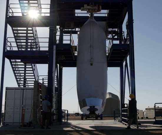composite rocket testing