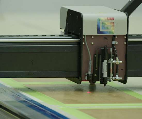 automatic ply cutting