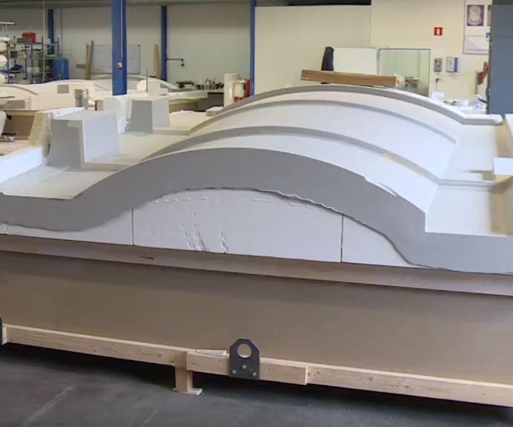 Vabo Composites molds for composite yacht mast