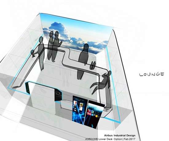 aircraft lounge