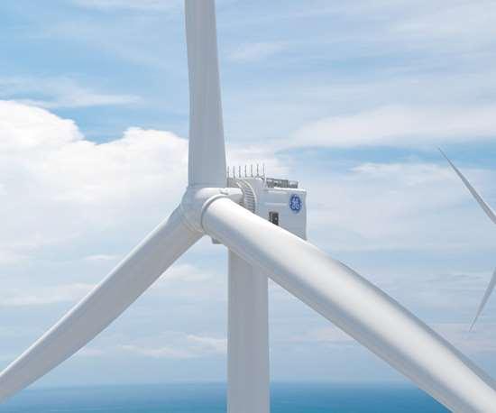 GE Halaide-X offshore wind turbine, largest wind turbine