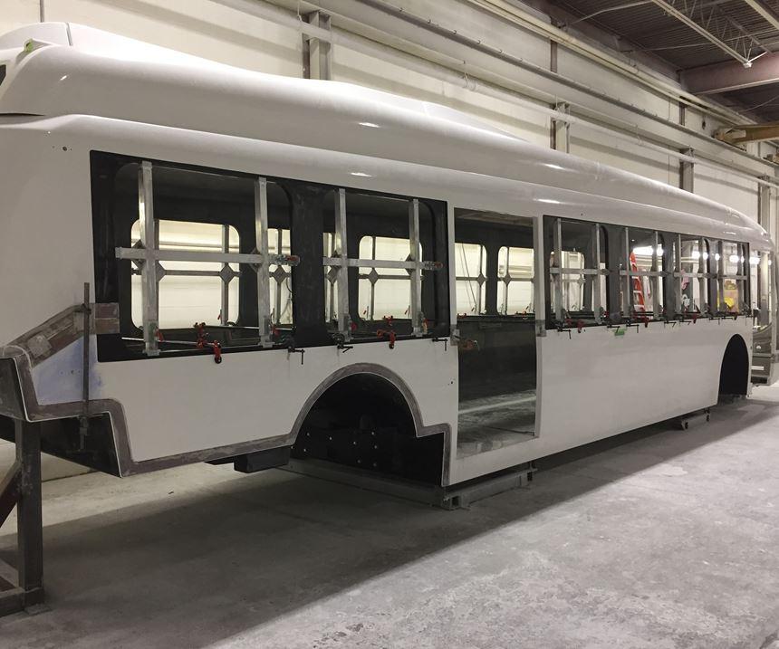 monocoque bus structure