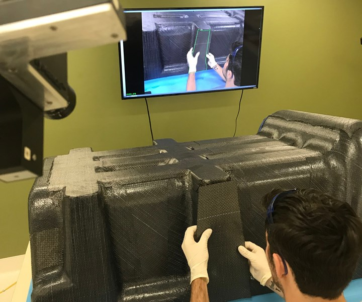 virtual reality for composites manufacturing