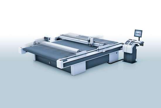 Zund cutting table
