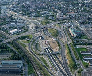 Composite in Netherlands tunnel firewater system
