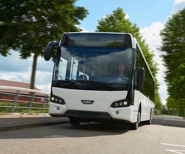 VDL Bus & Coach Citea passenger bus.