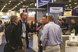 CAMX 2018 networking photo