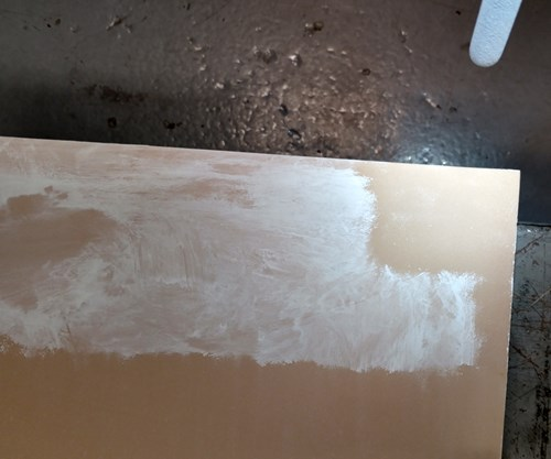 Yes, you clean tooling board with dry ice