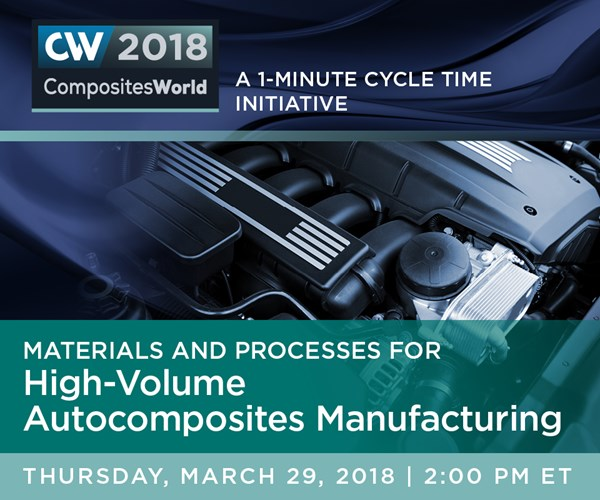 Materials and Processes for High-Volume Autocomposites Manufacturing