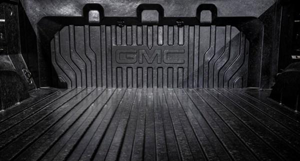 GMC carbon fiber truck bed.