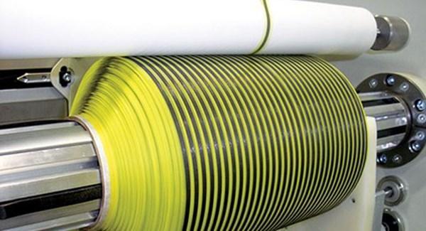 Web Industries carbon fiber creel