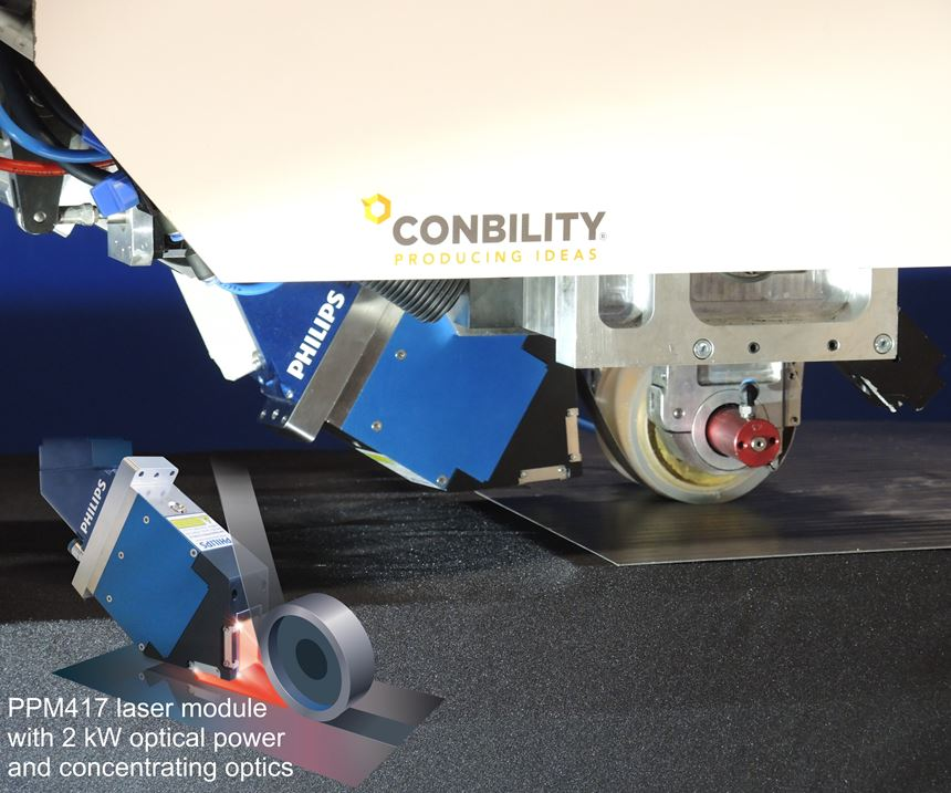 Conbility tape placement and winding applicator