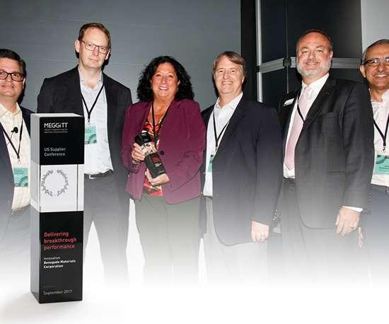 Renegade receives Meggitt supplier award