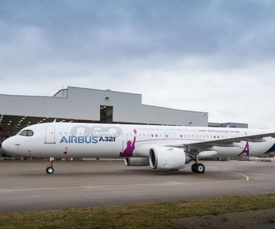 Airbus A312neo ACF rollout.