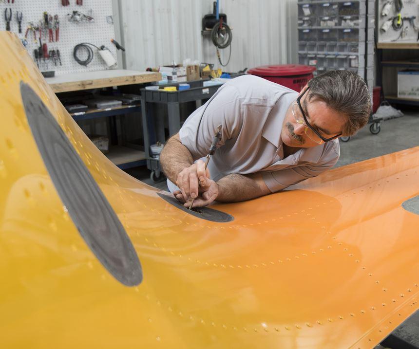 FACC Wichita composites repair EASA certification MRO