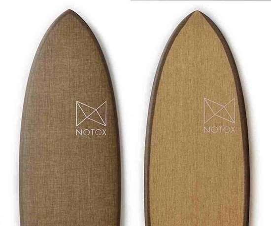 Notox boards made with Sicomin bio-based epoxy.